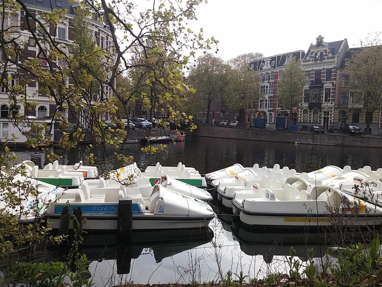 아름다운 암스테르담의 정경