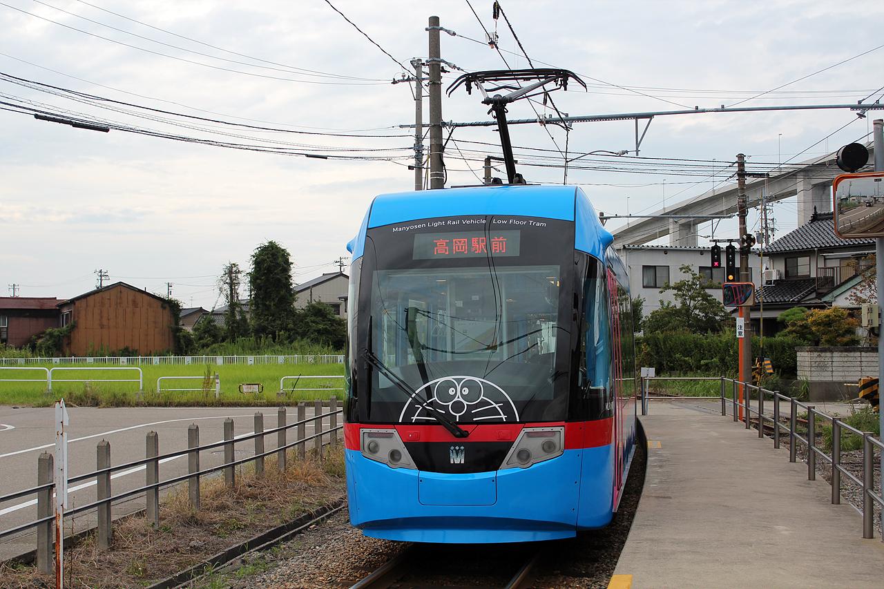 만요센 도라에몽 트램 아이들의 꿈을 키워주는 도라에몽 트램