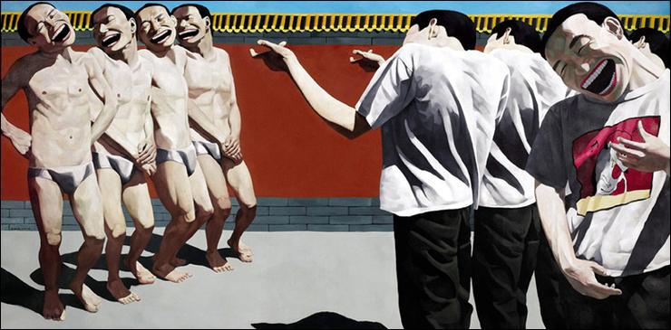 중국 화가 웨민쥔의 대표작 <The Execution(사형)>