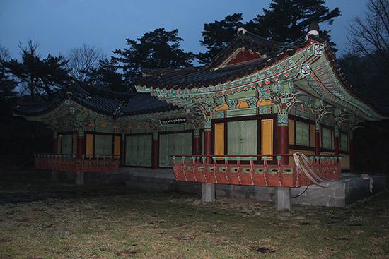 건봉사의 사명대사 기념관. 공식 명칭은 '사명당 의승군 기념관'이다.