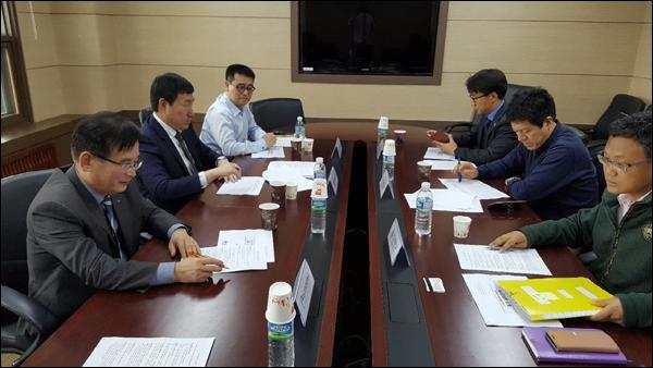 지난 17일 열린 대구와 경산지역 6개 대학 실무협의회 모습.