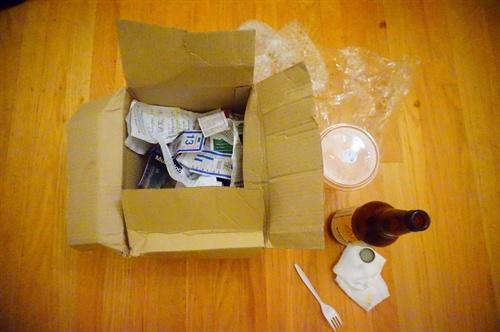 샌프란시스코 레인보우 그로서리 샌프란시스코 레인보우 그로서리  4일동안 만든 쓰레기 일부