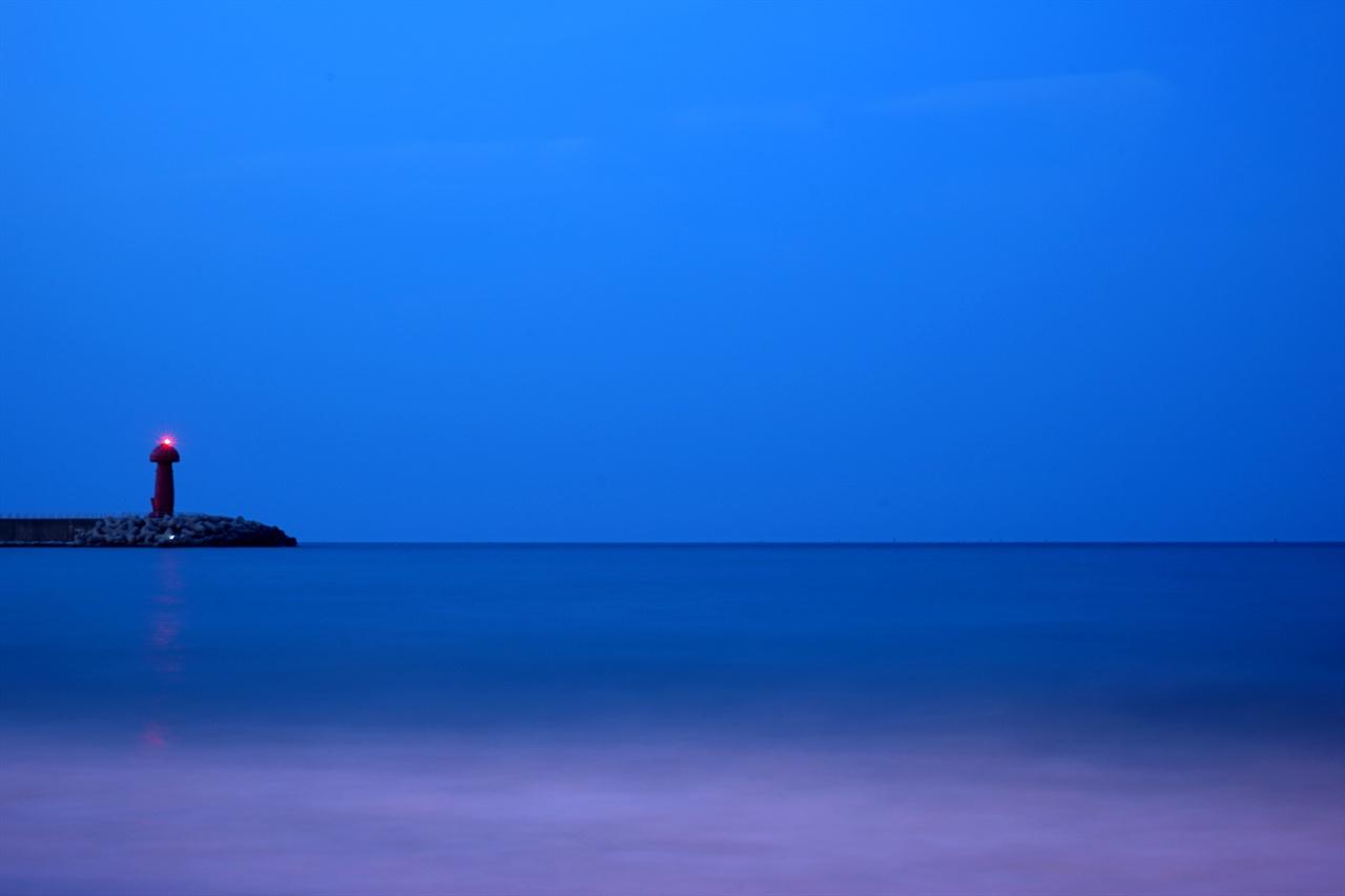 물치항 바닷가 풍경