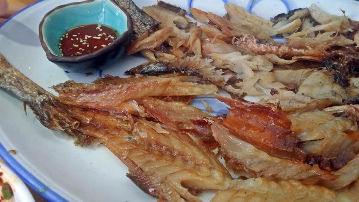 참기름고추장에 먹는 보리굴비는 정말 맛깔나다.