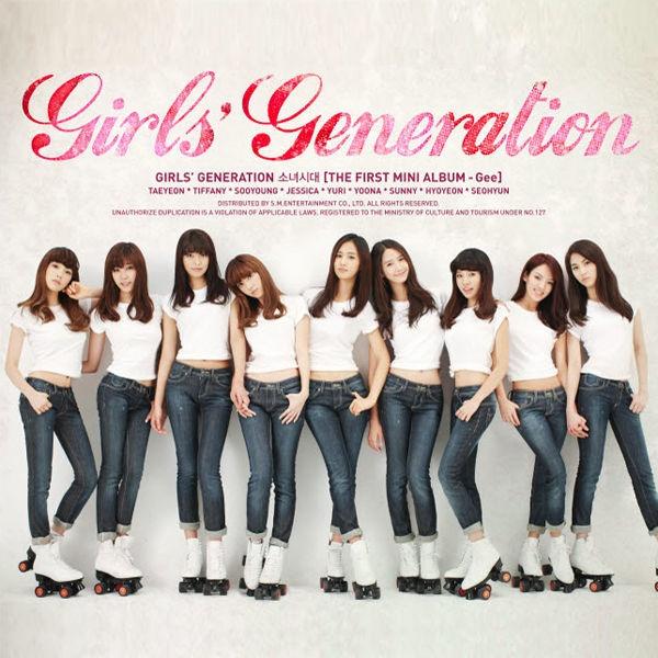 2009년 발매된 소녀시대의 첫번째 EP < Gee > 표지.  머릿곡 'Gee'의 대성공에 힘입어 소녀시대는 국민 걸그룹의 대열에 올라설 수 있었다.
