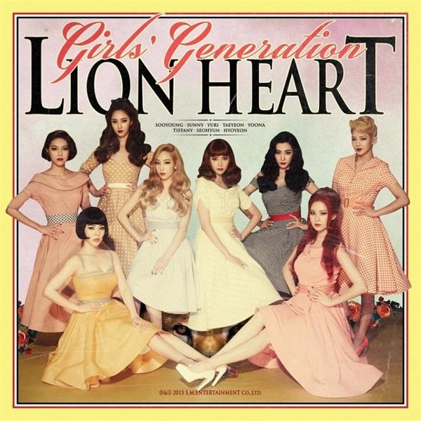 지난 2015년 발표된 정규 5집 < Lion Heart > 표지.