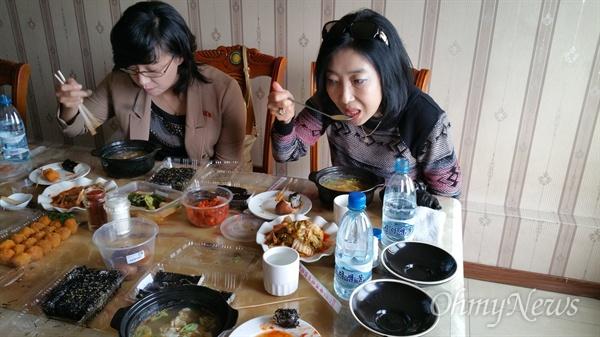 평안남도 개천군의 한 식당에서 육개장을 먹었다. 이 육개장 속 고기의 정체가 의심스러웠지만... 굳이 알려고 하지 않았다.