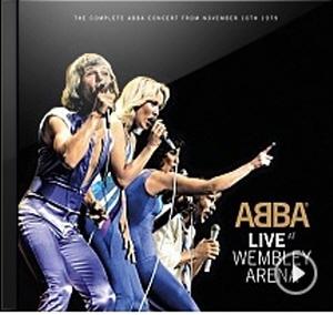 ABBA의 <Live At Wembley Arena> 앨범 재킷