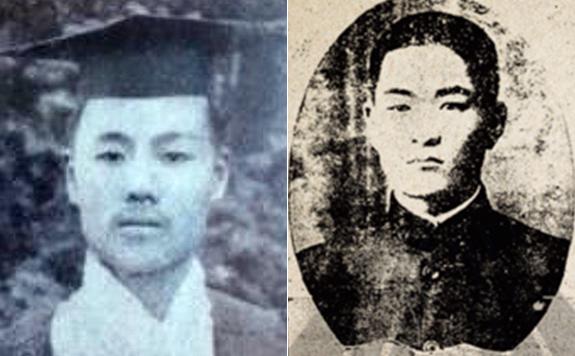 이태준 선생(왼쪽)과 장덕준 선생