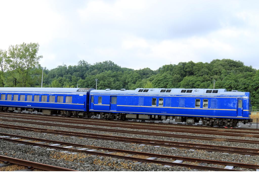 아케보노호 고사카철도레일파크에 있는 숙박열차 아케보노호