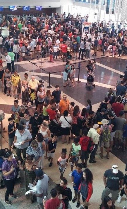 미국 각 지역에서 진행된 2017 개기일식 이벤트(Liberty Science Center, Jersey City)