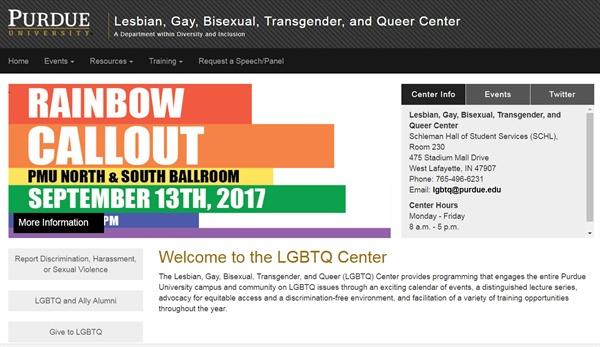 조지 타운 대학이나 퍼듀 대학, 산타아나 대학은 학교 규정으로 성적 지향이나 성정체성을 포함한 차별과 혐오 행위를 금지하는 자체적인 규정을 가지고 있다.