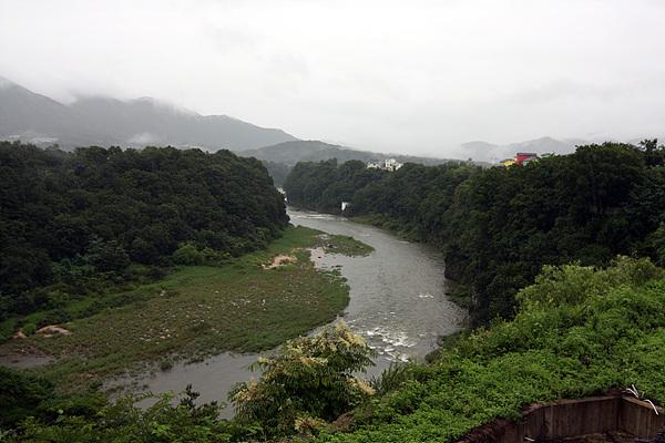 한탄강 모습