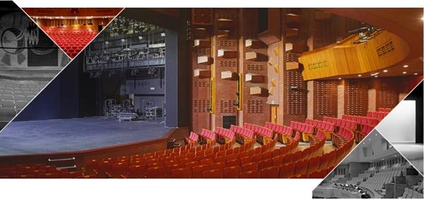 서울 대학로의 아르코예술극장 대극장의 이미지. 한국문화예술위원회의 아르코예술극장은, 사실상 대학로의 유일한 공공 극장이라고 할 수 있다.