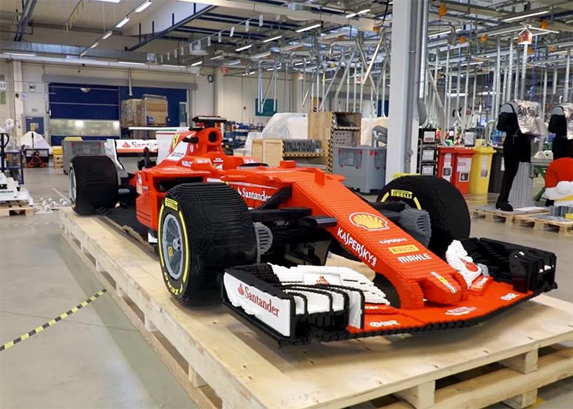 페라리의 F1 레이싱카