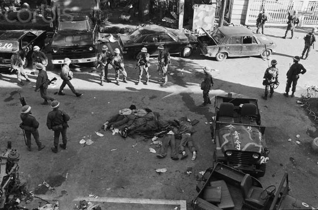 5.18 광주민주민주화운동 당시 쓰러진 사람들