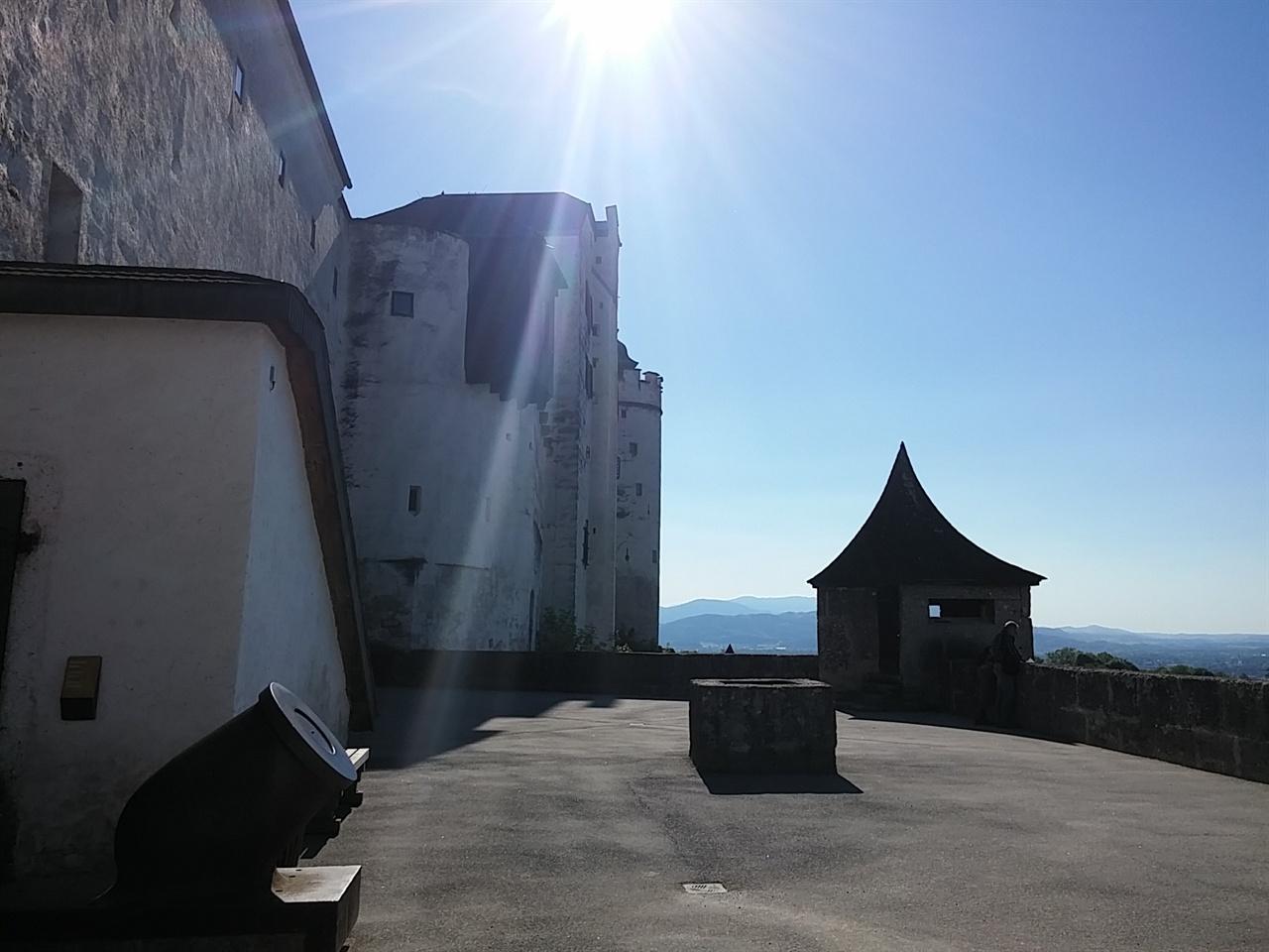 호엔잘츠부르크 성 전망대