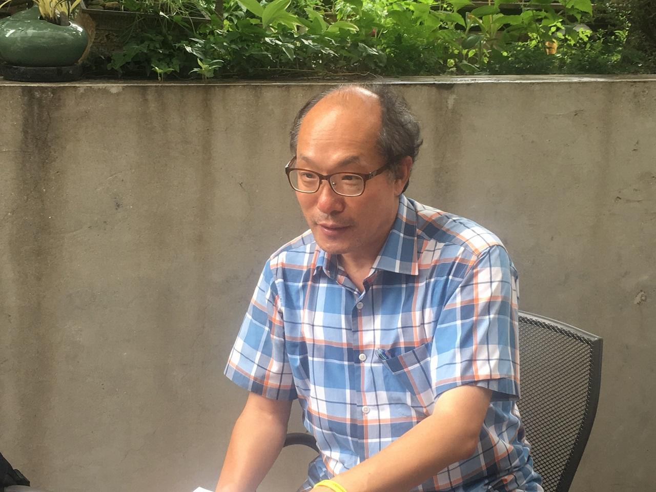 이남신 한국비정규노동센터 상임활동가