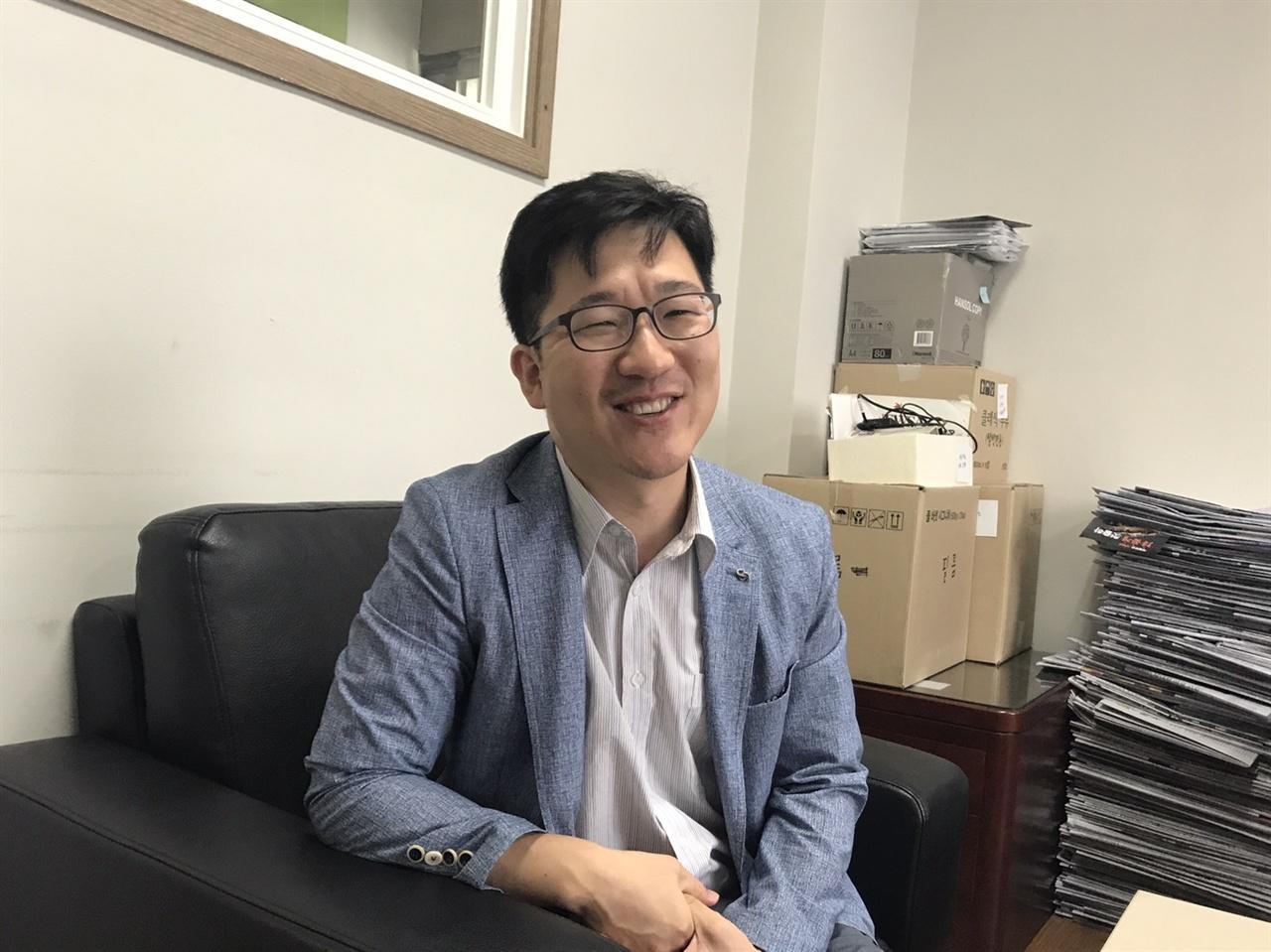 강도현 뉴스앤조이 대표