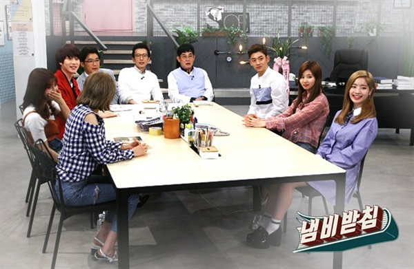 KBS <냄비받침>의 한 장면. 지난 5일 결국 종영했다.