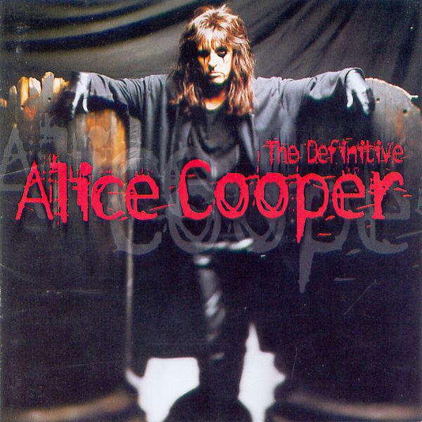 앨리스 쿠퍼의 히트곡 모음집 표지.  오지 오스본과 더불어 공연 무대에서 괴기, 공포를 연출하는 이른바 '쇼크 록'의 대부로 불리운 그의 작품들은 1980년대 한국에선 정식으로 접할 수 없었다.