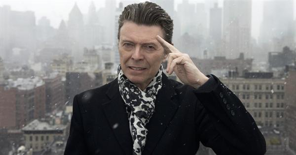 다큐 < David Bowie: The Last Five Years >의 한 장면