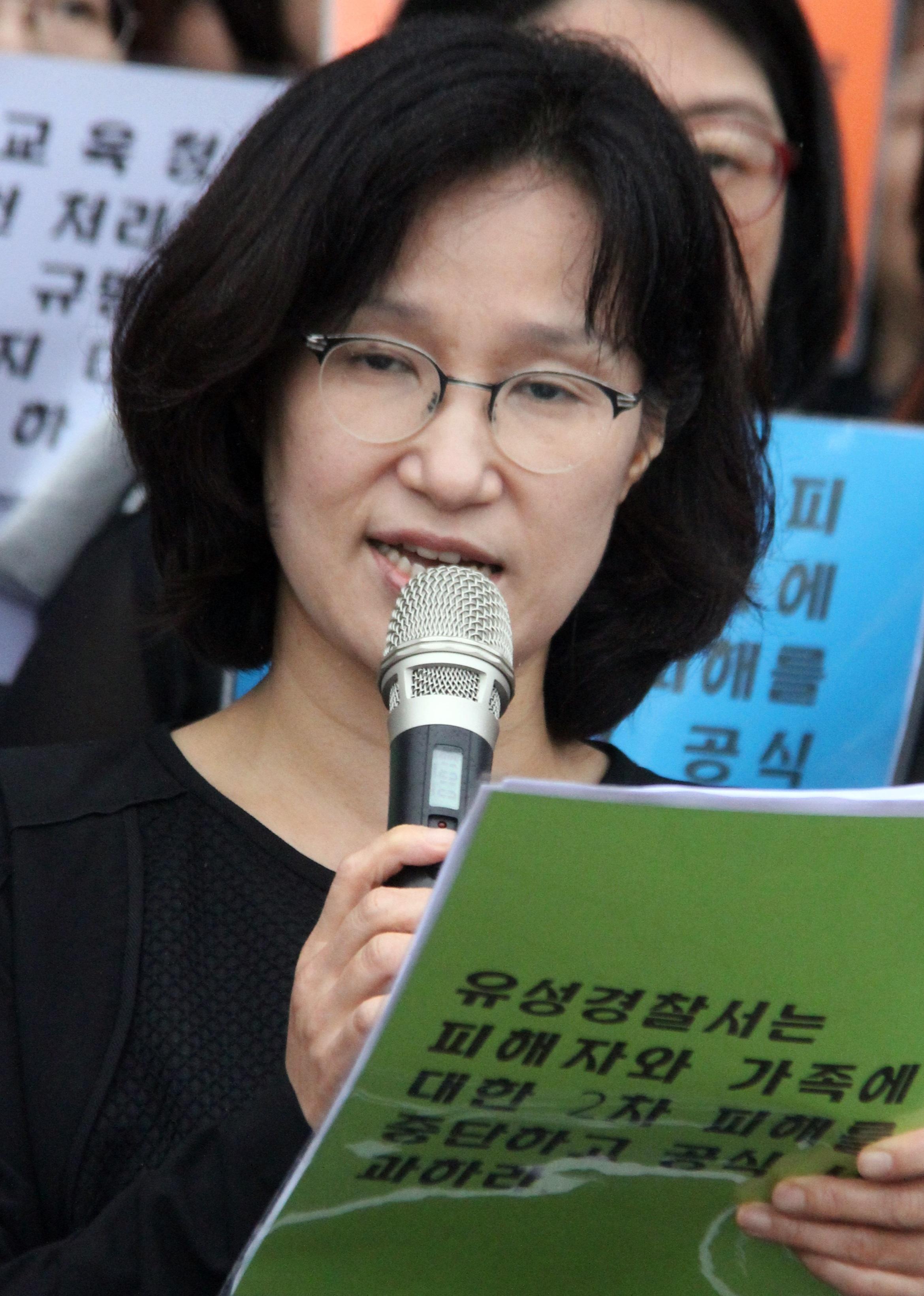 """원민경 피해자유족 변호사 """"경찰은 한 달 동안 뭐했나"""""""