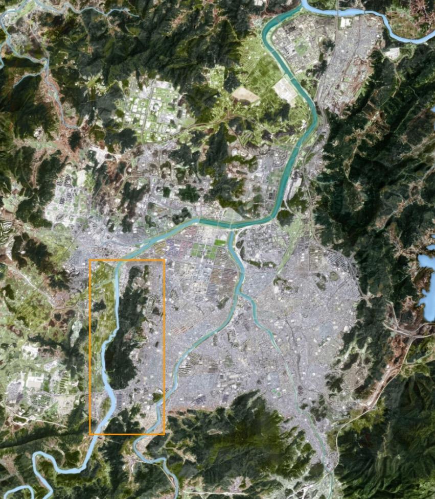 월평공원과 갑천 대전의 생태섬으로 평가되고 있으나 개발사업이 집중되고 있는 월평공원과 갑천
