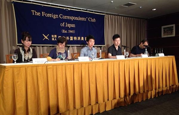 일본의 진보 주간지 <주간 금요일>의 편집위원 아마미야 카린 씨가 주축이 되어 일본의 저널리스트들이 이예다 씨를 일본에 초청했다. 일본은 평화헌법 9조가 없어지고 군대가 부활할지도 모른다는 위기감 때문에 한국의 병역거부에 관심이 많다.