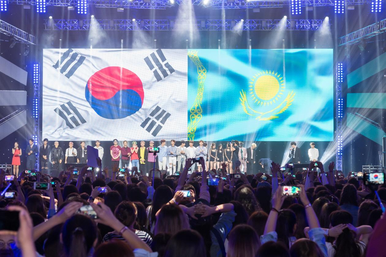한국의 날 전야제 K 컬처 파티 현장