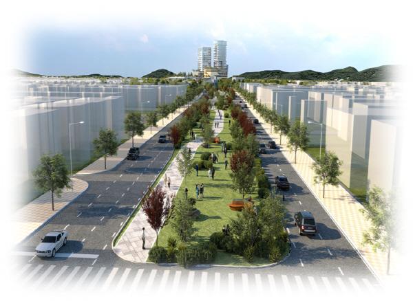경인고속도로 대한민국 최초의 고속도로인 '경인고속도로'가 일반화 돼 시민의 품으로 돌아온다. 인천시는 일반화되는 경인고속도로를 소통과 문화의 공간으로 새롭게 탄생시켜 시민의 삶의 질 향상에 기여한다는 계획이다. 사진은 '경인고속도로 일반화 구상도'.