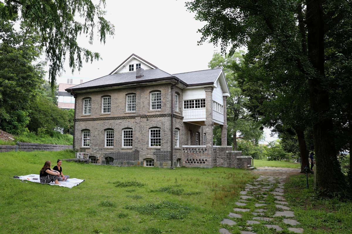 윌슨 선교사 사택. 광주에서 가장 오래된 서양식 건축물이다. 윌슨 선교사는 전쟁고아를 돌봤다.