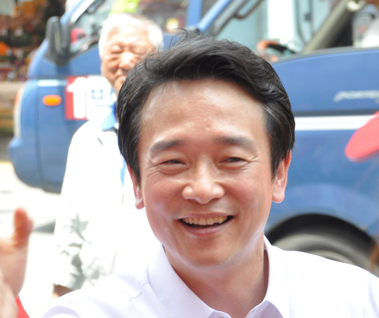 남경필 지난 선거 유세모습