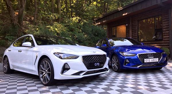 G70의 모델별 판매가격은 가솔린 2.0 터보 3750만원부터 시작한다. 디젤은 2.2리터급이 4080만부터, 가솔린 3.3 터보 모델 4490만부터~5180만 원이다.