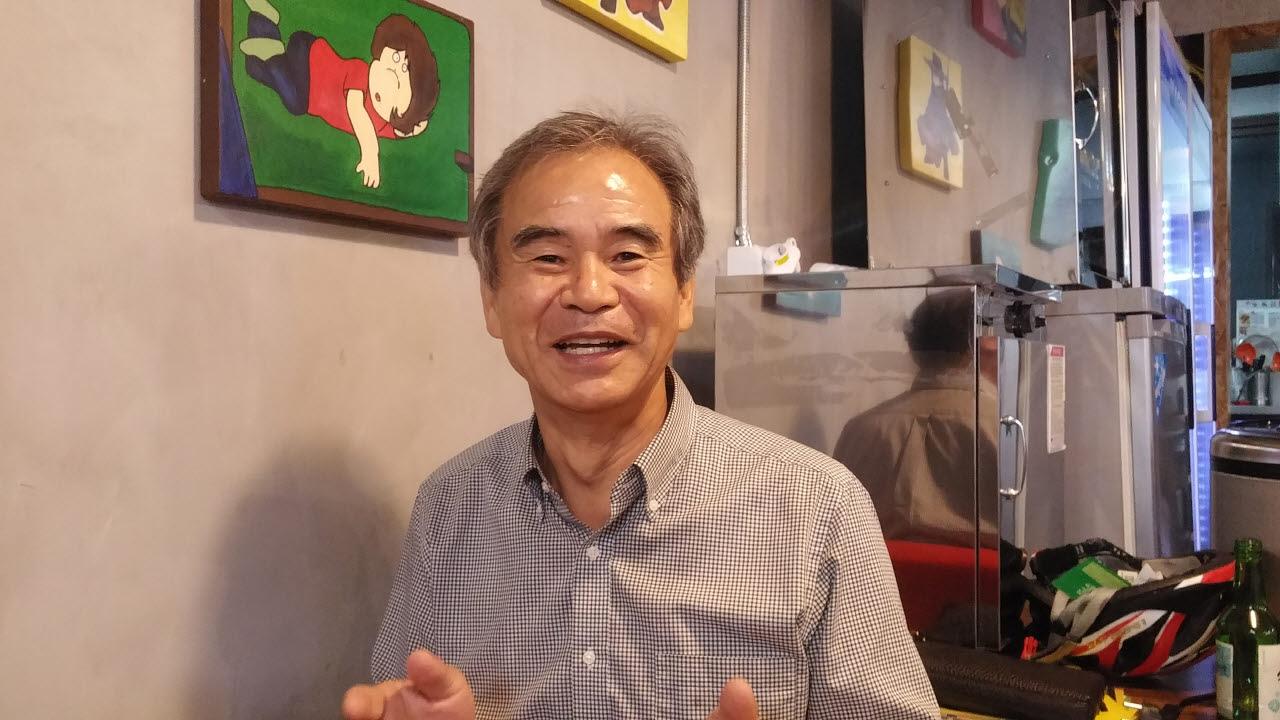 탈핵에너지 교수 모임 상임대표를 지내고 있는 김연민 울산대 교수. 울산시장 출마에 대한 의지를 보이고 있다