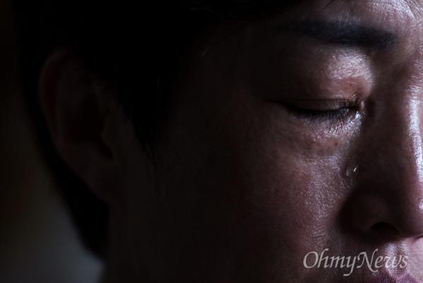 고 김대웅 일병(가명)의 엄마는 아들을 떠올리며 눈물을 흘렸다.