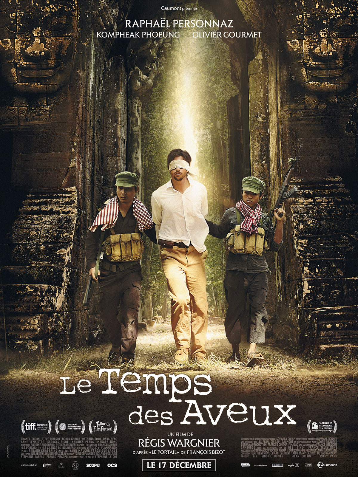 프랑스출신 민속학자 프랑스와 비조가 실제 경험한 이야기를 소재로 만든 영화 '고백의 시간'  불어버전 포스터.