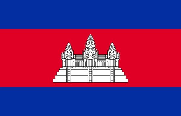 캄보디아 국기 이미지