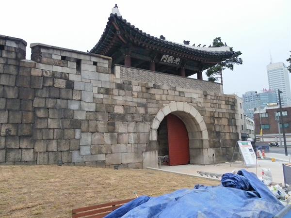 광희문. 서울시 중구 광희동에 있다.