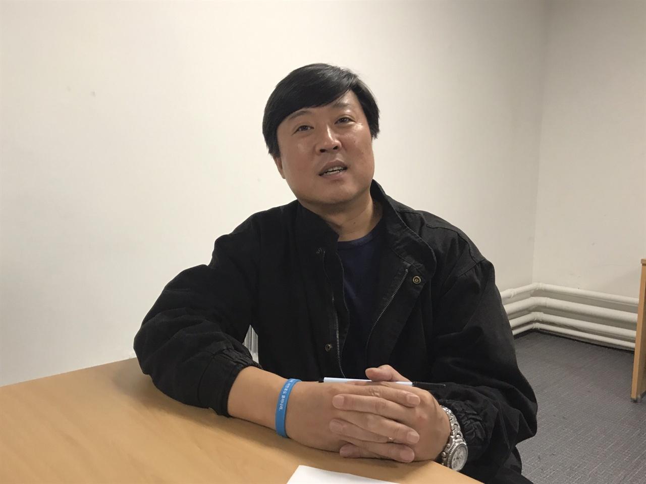 오태훈 언론노조 KBS 본부 부위원장