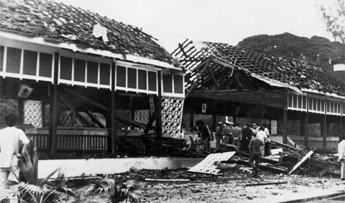 민청련이 창립한 직후인 10월 9일, 미얀마 아웅산 묘소 폭파사건이 일어났다. 사진은 아웅산 묘소가 폭발한 직후 모습