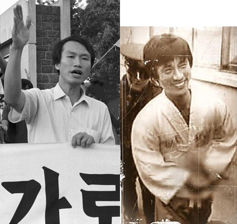 복학거부론을 역설한 이범영(왼쪽)은 이후 시위 관련으로 수배되었고, 복학수용론을 주창한 유시민(오른쪽)은 서울대프락치사건으로 구속되었다