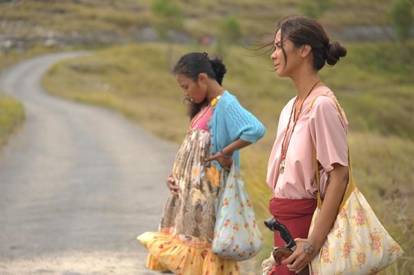 영화 <살인자 말리나의 4막극>의 한 장면.