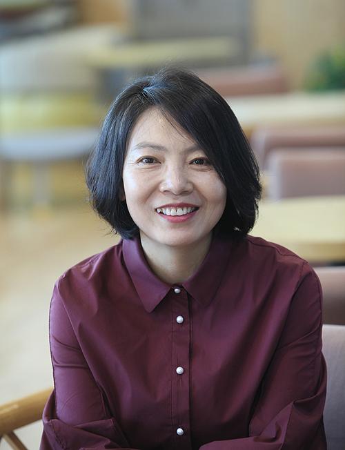 '아이 키우기 좋은마을 광산운동본부(광산마을 잼잼)' 윤난실(광산구공익활동지원센터장) 상임대표.