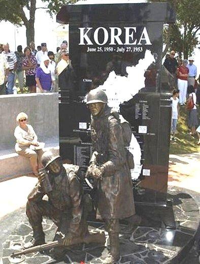 플로리다 북서부 펜사콜라 지역의 한국전 메모리얼. 미 전역에는 이같은 한국전쟁 메모리얼이 112개나 있다.