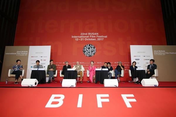 21일 오전 영화의전당에서 열린 부산국제영화제 폐막 기자회견