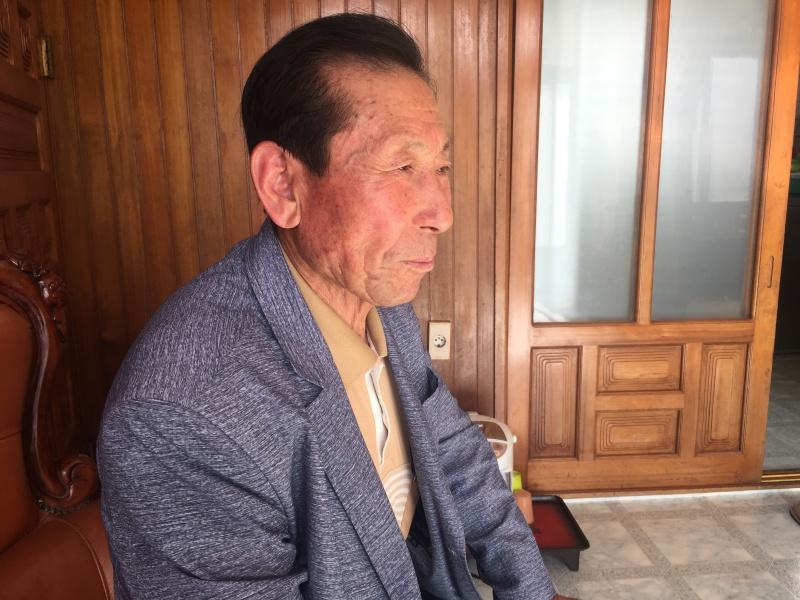 공시지가 상승으로 올해 기초연금 수급 대상에서 탈락한 김길성(82) 어르신. 생계를 위해 최근 마이너스 통장을 개설했다.