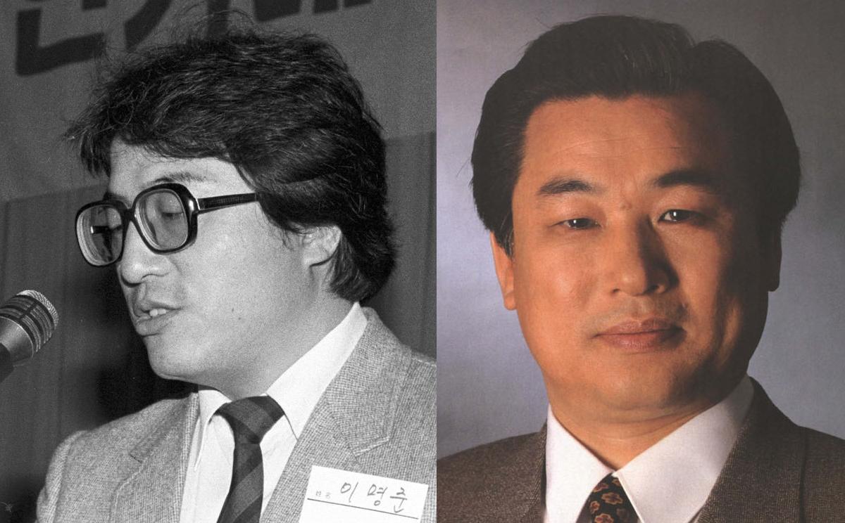 2차총회에서 새로 선출된 이명준(왼쪽)·한경남(오른쪽) 부의장