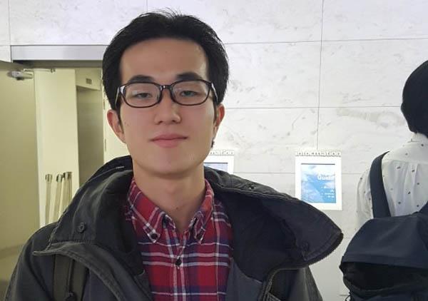 '저널리스트를 지망하는 한일학생포럼'에 참가차 서울에 온 미나미 마사오미씨.