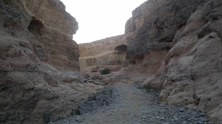 세슬림캐년의 지층의 모습 지구 역사에서 이곳 남부 아프리카에서도 빙하가 녹으면서 강을 이르어 흐르면서 침식을 하고 갔을 것으로 추정이 된다.